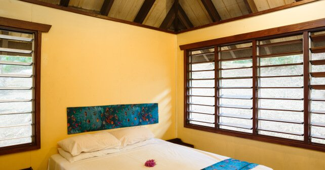Funky Fish Surf Resort 1 Bedroom Beachfront Bure