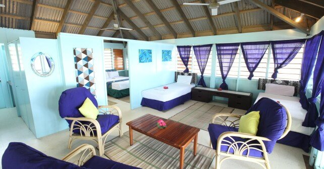Funky Fish Surf Resort 2 Bedroom Beachfront Family Bure